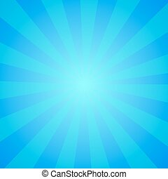 blue circus background - Bright abstract cartoon background...