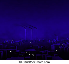 Blue City Night