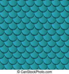 Blue clay roof tiles