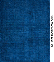 Blue Cloth Background - A vintage cloth book cover with a...