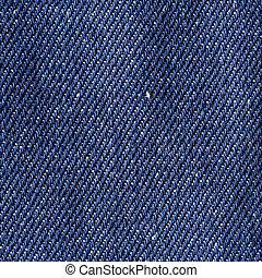 Blue cloth texture - Close up old blue cloth texture...