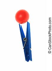 Blue Clothespin