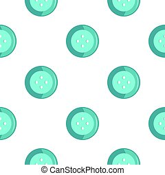 Blue clothing button pattern flat