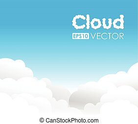 blue cloud background