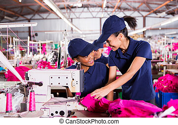blue collar workers discussing work - beautiful blue collar...