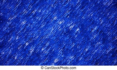 Blue color abstract substance in background