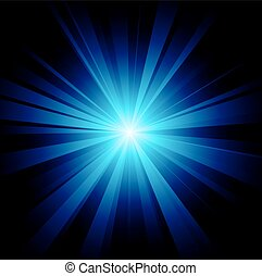 Blue color design with a burst vector file included