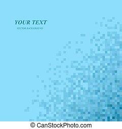 Blue color digital art background design