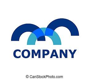 half circle logo