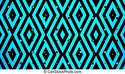 blue color square pattern