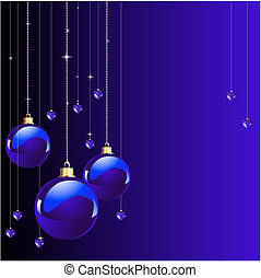Blue colors Christmas
