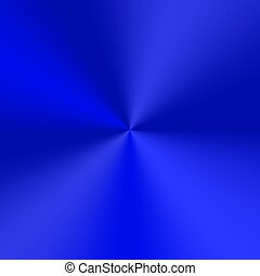 Blue conical gradient - Conic gradient with a blue metallic...