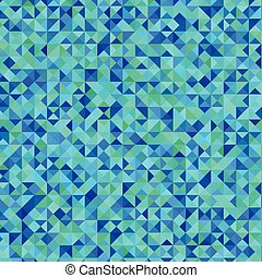 Blue consists of triangles backgrou