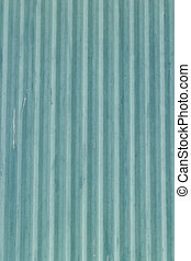 Blue corrugated metal sheet background