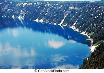 Blue Crater Lake