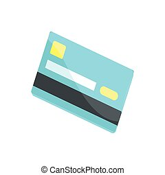 cash card cartoon illustration credit card single symbol on