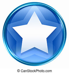 blue csillag, ikon