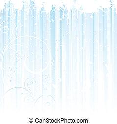 blue csillogó, grunge, tél, háttér
