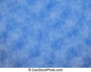 Blue cubic background