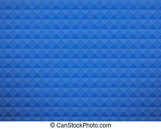 Blue cubic background