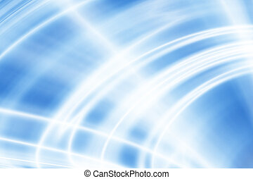 Blue Curvy And Wavy Background