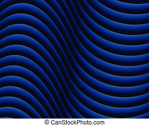 Blue dark abstract wave background.