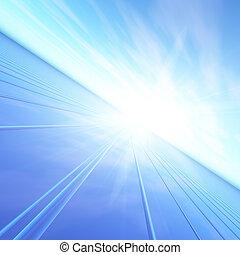 Blue Dawn Flash Horizon