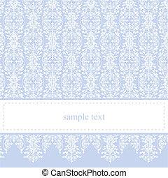 Blue decoration vector background