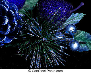 Blue Decorations - Blue Holiday Decorations