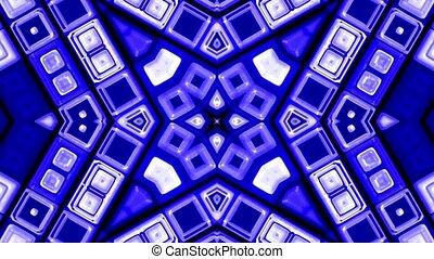 blue deform mosaics background