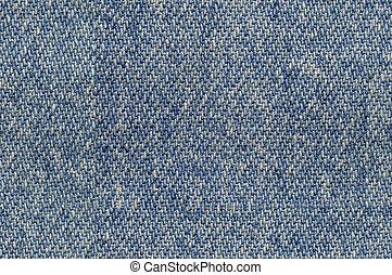 Blue denim fabric background seamlessly tileable - Blue...