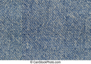 Blue denim fabric background seamlessly tileable - Blue...