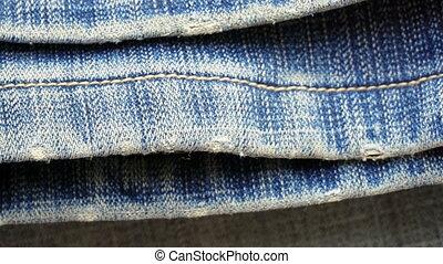 blue denim or jeans texture background. - blue denim or...
