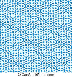 blue design pattern