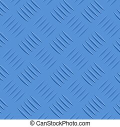 Blue diamond steel texture