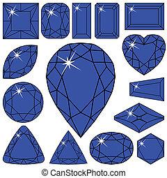 blue diamonds collection