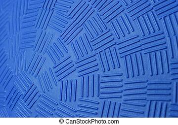Blue Dodge Ball Pattern - Pattern Design of Blue Rubber...