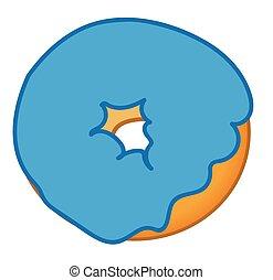 Blue Donut