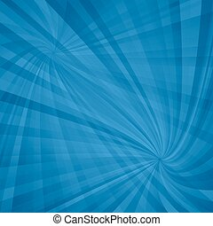 Blue double spiral pattern background