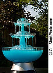 Blue Drink Fountain