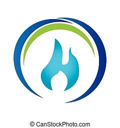 blue drop emblem icon
