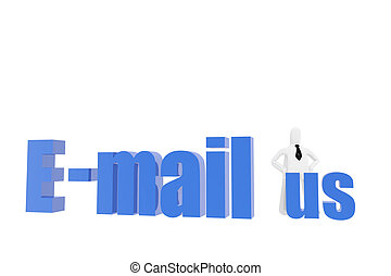 E-mail us symbol