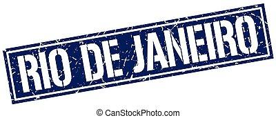 blue egyenesen, janeiro, bélyeg, ellen-, rio