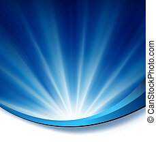 Blue elegant abstract background il