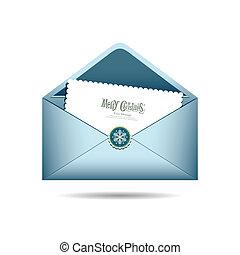 Blue Envelope letter