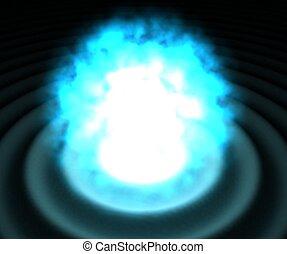 Blue Explosion