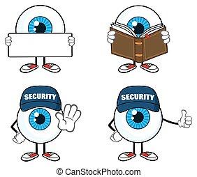 Blue Eyeball Guy Collection - 3