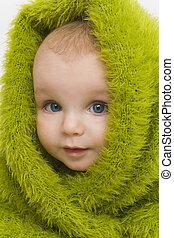 Blue Eyed in Green III
