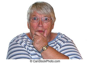 blue eyed senior