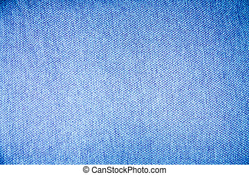 blue fabric texture. Clothes background. Close up